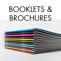 A4, A5, A6 Booklets from £42