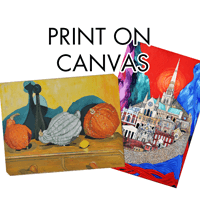 A4-A1 Canvas Prints from £16