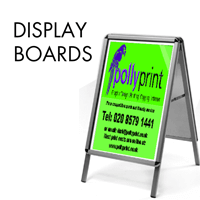 Outdoor Display Boards from £55