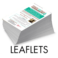 A6 - A4 Leaflets from £30