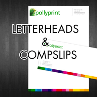 Letterheads and Compliment Slips from £35