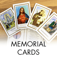 Memorial Cards from 50p/card