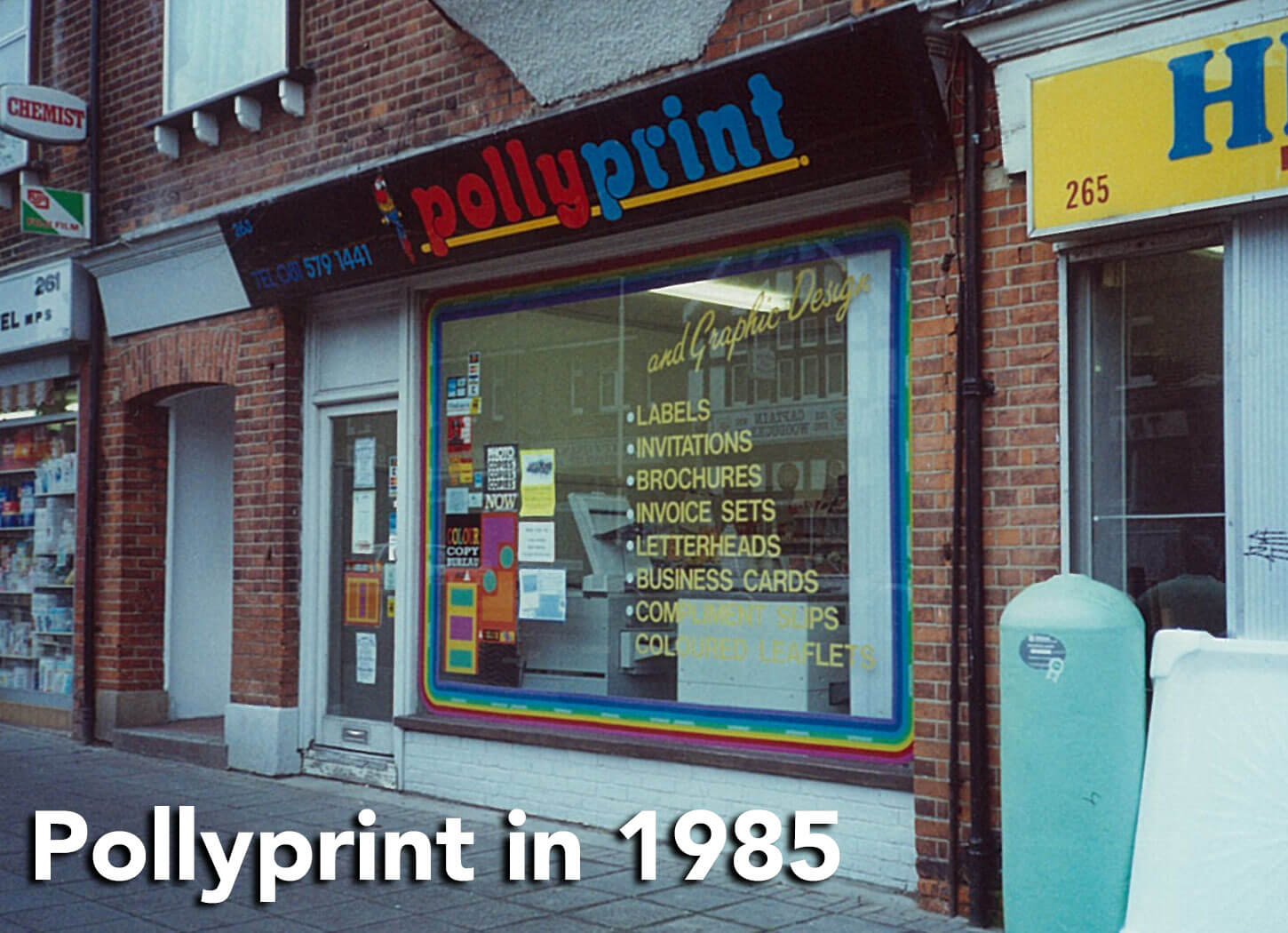 Pollyprint in 1985